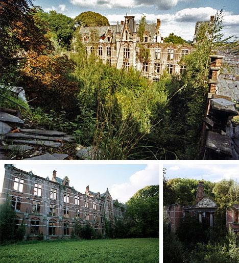 belgium-historical-abandoned-castle