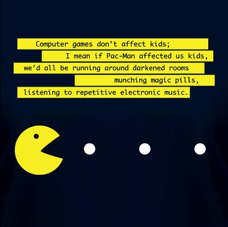 Pac-Man-T-Shirt