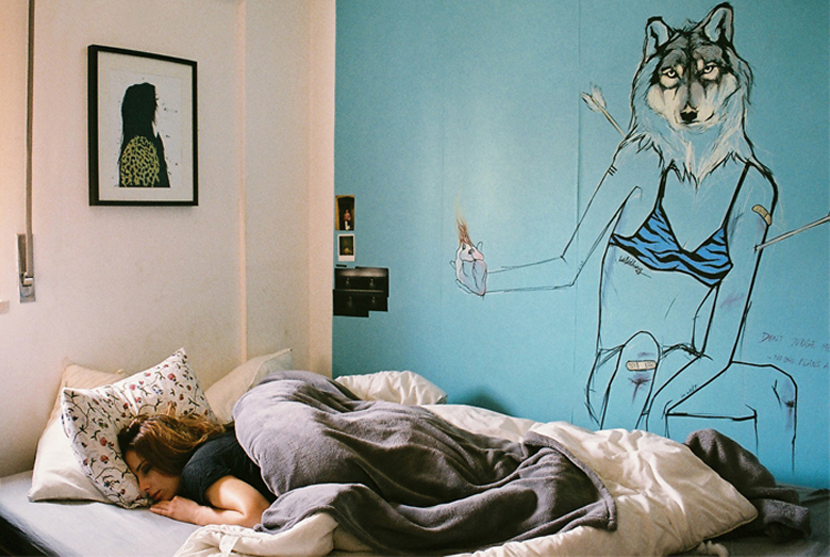 people sleeping project by susana chaby lara via au pays des merveilles