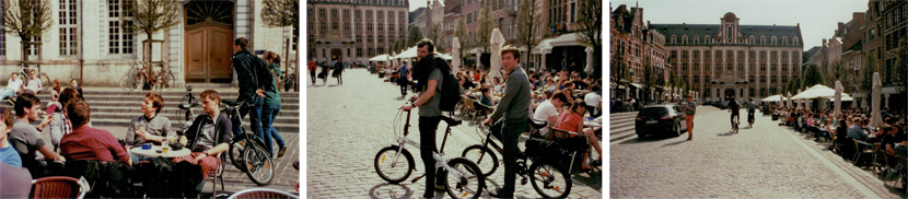 drinks and bikes in leuven, via au pays des merveilles