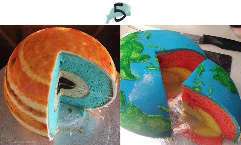 planet cakes via au pays des merveilles