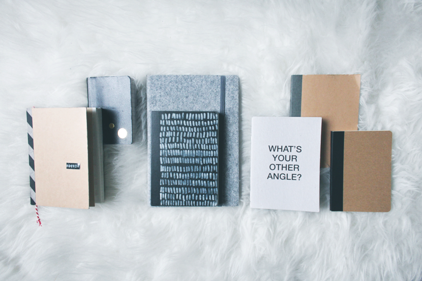 PRETTY THINGS: notebooks via au pays des merveilles