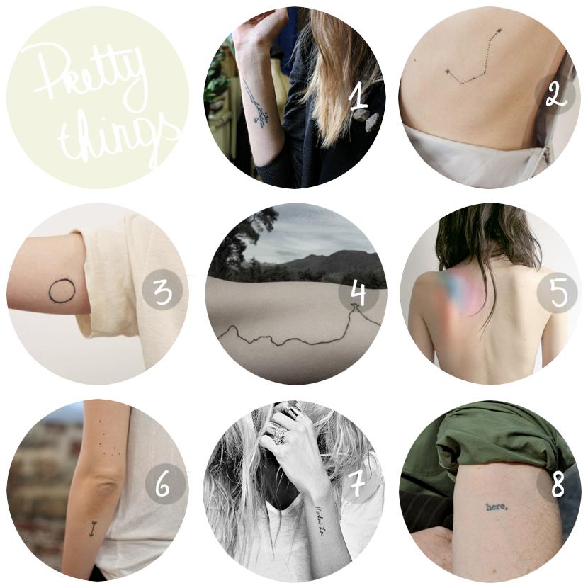 PRETTY THINGS tattoos via au pays des merveilles